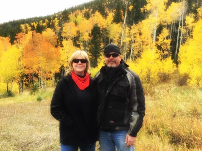 Scott and Mandy on Pauite Trail
