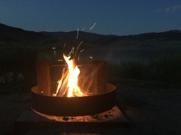 Time for a campfire and s'mores.