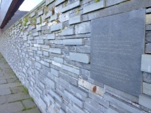 Memorial Wall at Culloden Moor