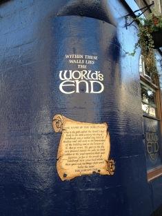 The World's End Pub in Edinburgh