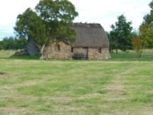 Stone cottage on Culloden Moor