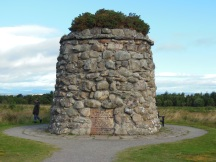 Tribute at Culloden Moor