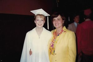 My high school graduation